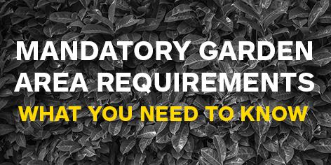 garden requirements w