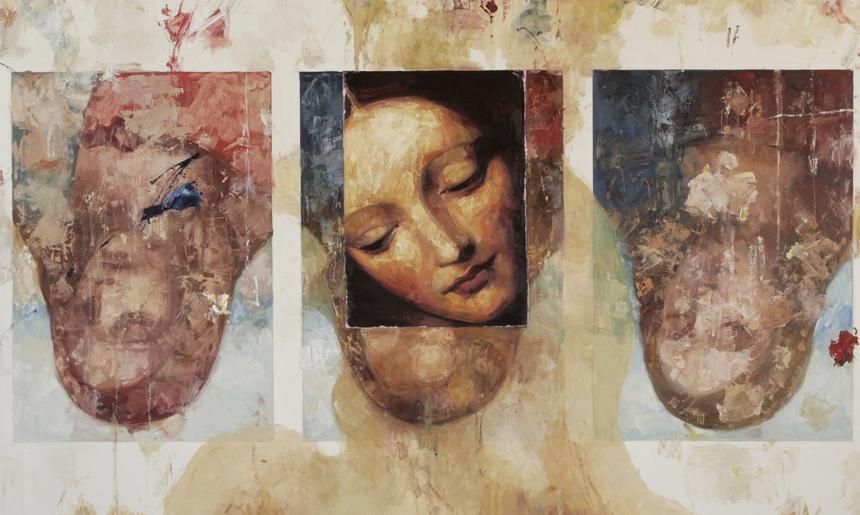 trinity oil on canvas 126x167cm 2007