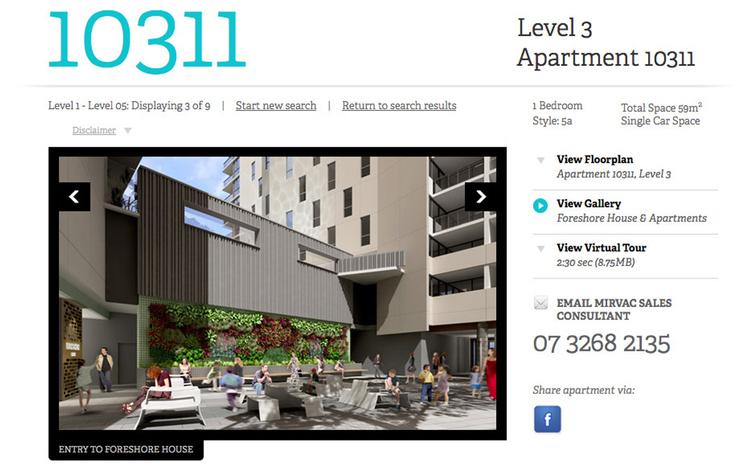mirvac apartment finder detail