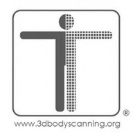 3d body scanning logo bw